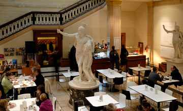 Walker Art Gallery Cafe, Liverpool, image courtesy of venue