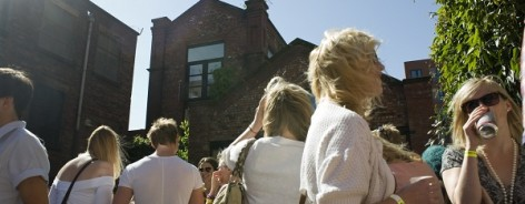 Islington Mill Courtyard, Alex Wolkowicz for Creative Tourist