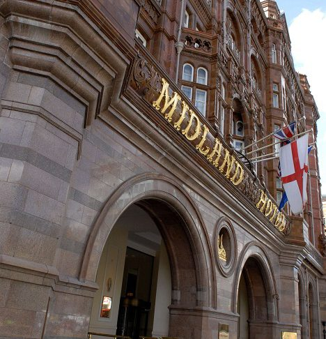 The Midland Hotel on Peter street in Manchester
