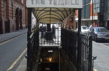 The Temple underground bar Great Bridgewater street Manchester.