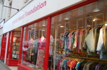Second hand shop British_Heart_Foundation