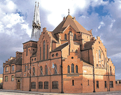 Gustaf Adolf's Church, Liverpool. Courtesy LINC