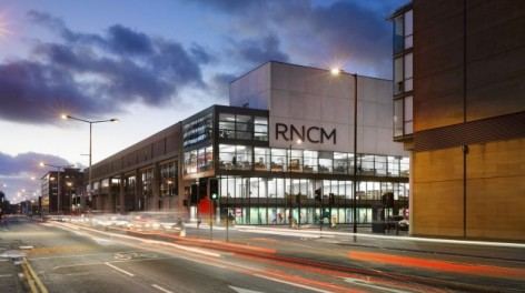 RNCM, Manchester, image courtesy of venue
