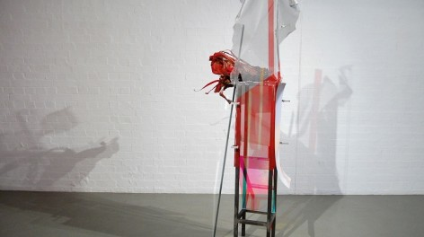 New artists Samantha Donnelly, Adding a small amount of red enhances energy flow and increases productivity (2012)
