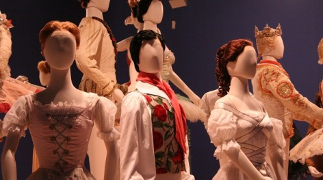 Ballet mannequins at The Lowry