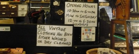 69a vintage shop liverpool for creative tourist