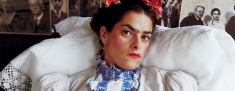 Tracey as Frida, London, 2000. Copyright Mary McCartney
