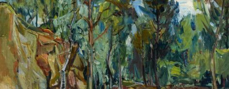 Epstein, Henri; 'Forest of Rambouillit' c.1931, Ben Uri, The London Jewish Museum of Art