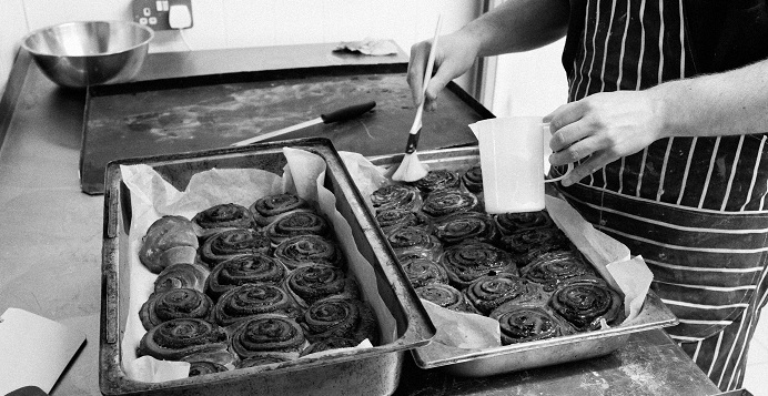 Liverpool food, Baltic Bakehouse, photo Chris Leah chelsea buns creative tourist