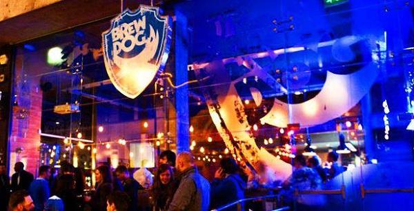 BrewDog bar in Manchester.