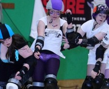 Manchester Roller Derby, The Thunderdome Oldham, Rainy City Roller Girls