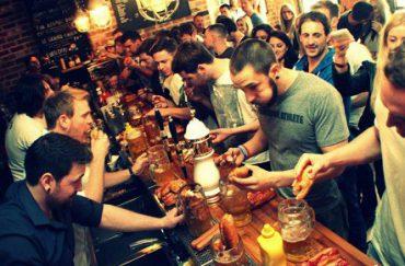 Salt Dog Slims, Seel Street, Liverpool bars
