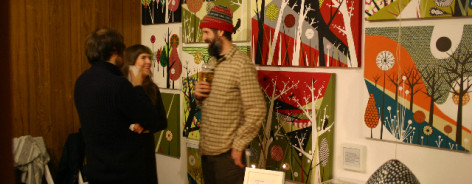 christmas at islington mill people
