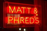 matt and phreds sign manchester music