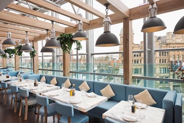 Bottega Restaurant Selfridges Manchester