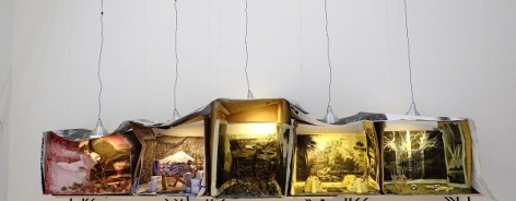 Installation by Marvin Gaye Chetwynd