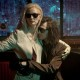 Tom Hiddleston and Tilda Swinton embrace in the film Only Lovers Left Alive