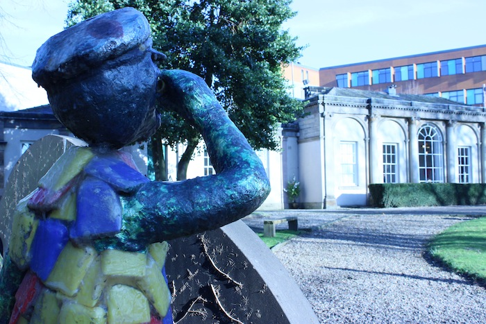 The orangery wakefield statue garden creative tourist