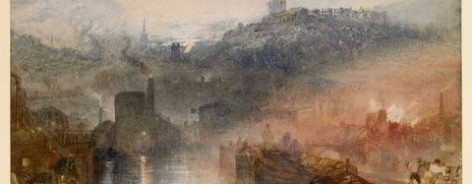 Image of JMW Turner's painting Dudley, Worcestershire.