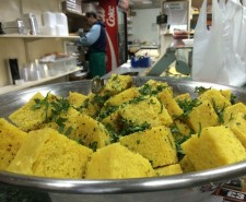 Curry Mile Dhokra at Anands. Image courtesy Haz Arshad.