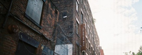 Photo of the outside of Islington Mill.