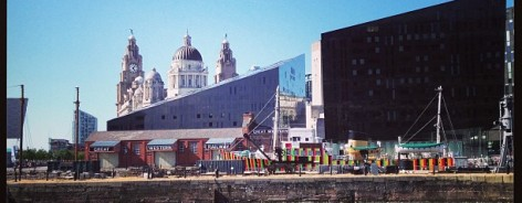 Liverpool Biennial Dazzle Ship by creative tourist