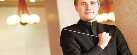 Photo of conductor Vasily Petrenko