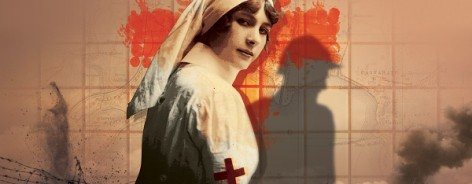 Poster image for A Farewell to Arms, showing a nurse