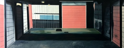 Photo of a painting by Michael Cox