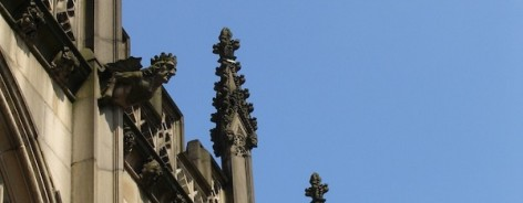 Photo of Manchester Cathedral's decoration