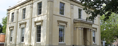 Photo of the exterior of Elizabeth Gaskell House