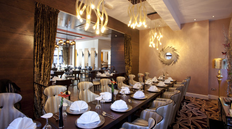 Photo of a table at Chaophraya