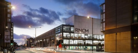 Photo of the RNCM at night