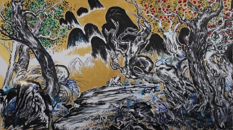 Appreciated Scenery (值得欣賞的風景) by Sun Xun, 2014. Image courtesy CFCCA.