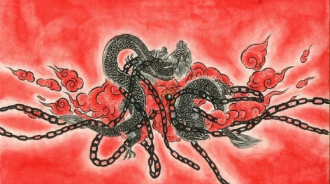 What happened in the year of the dragon, by Sun Xun. Image courtesy CFCCA.
