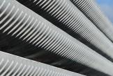 Photo of concrete layers at Preston Bus Station