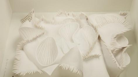 Photo of white ceramic work