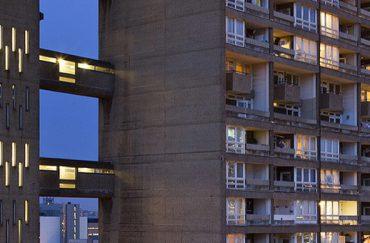 Balfron Tower at night