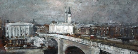 Painting of London Bridge
