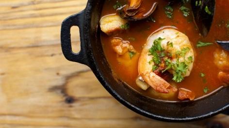 Photo of a prawn tapas dish