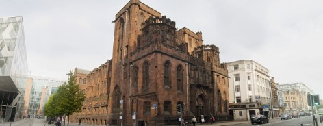 Photo of the John Rylands Library from outside