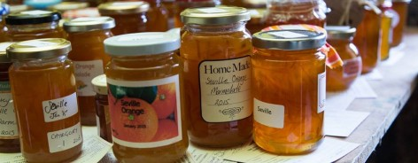 Photo of jars of marmalade