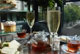 Afternoon tea on table