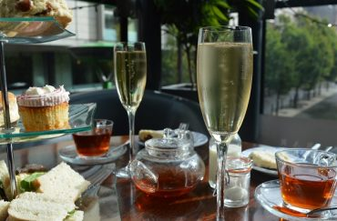 Afternoon tea at Epernay Manchester.