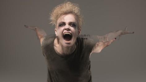 Maxine Peake as the Skriker