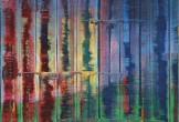 gerhard richter abstract painting 1992, oil on canvas, detail