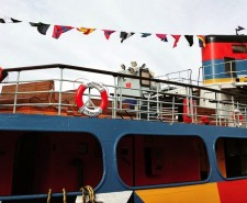Peter Blake Dazzle Ferry creative tourist