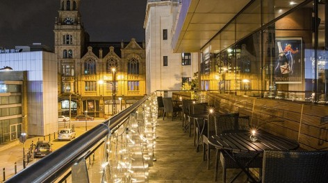 Top five roof terraces manchester creative tourist for Terrace northern quarter