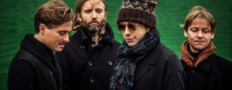 Photo of the band members in Mew