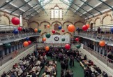 Photo of the stalls in Victoria Baths.